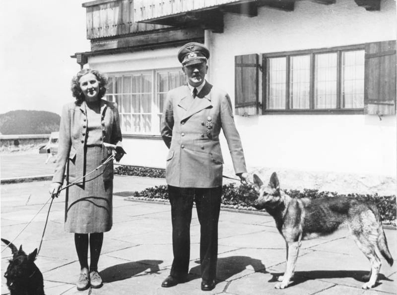 Why did Hitler marry just before death