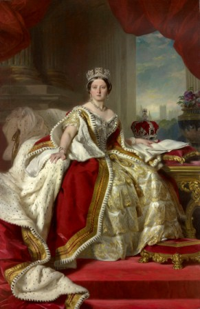 Love Of Queen Victoria With An Indian
